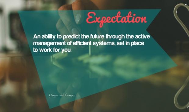 expectation - social media marketing los angeles - geyen + del campo, business curators