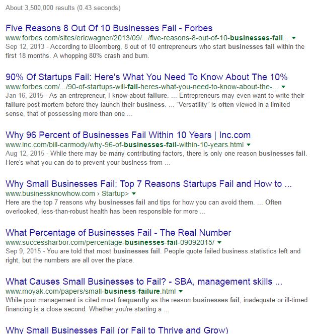 google snapshot micro business monday - geyen + del campo